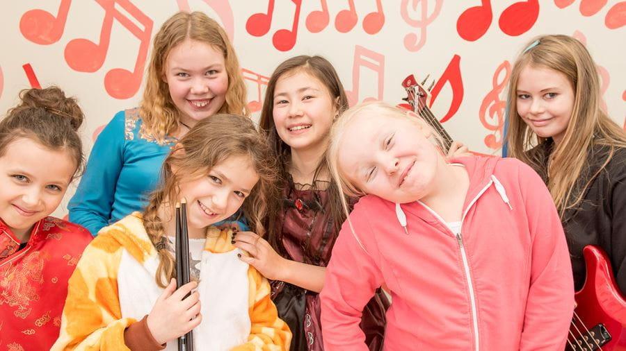 Link til information om musikskolen, priser med mere
