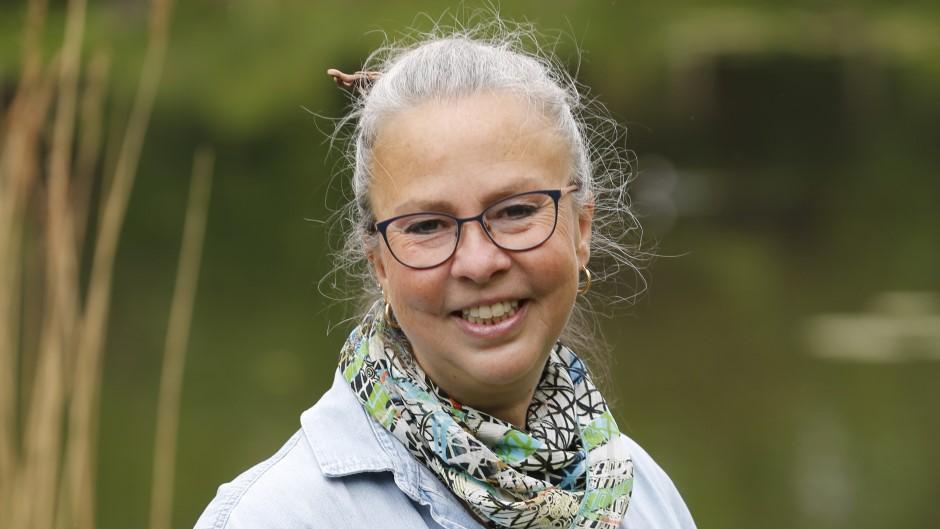 Musikskolens violinlærer Åsa Eriksson
