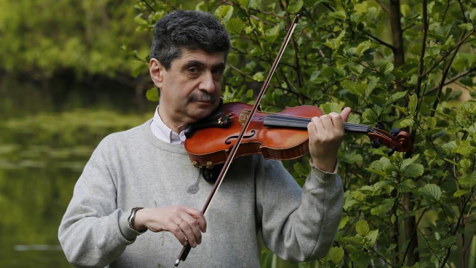 Ilia Skuratovskij underviser i violin i Odense Musikskole