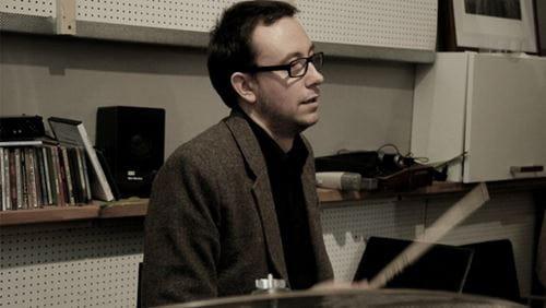 Trommelærer Kasper Tom Christiansen