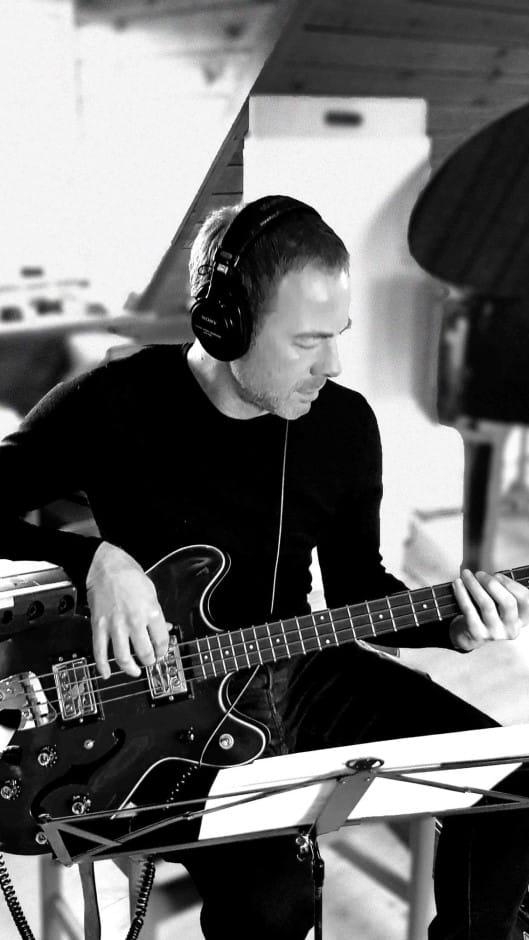 Musikskolens elbaslærer Morten Jørgensen