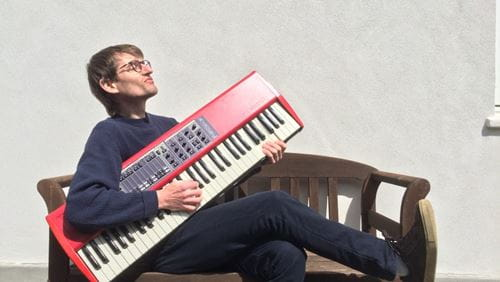 Morten Rothberg underviser i rytmisk klaver i Odense Musikskole