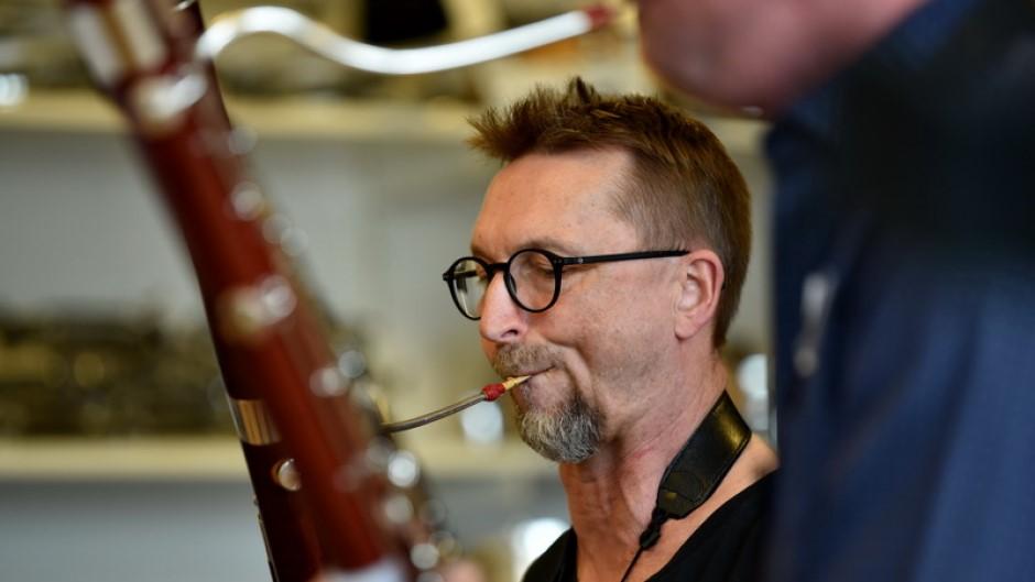 Musikskolens fagotlærer Ole Schouenborg
