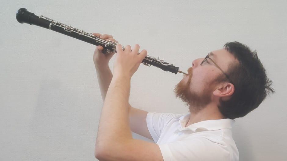 Musikskolens obolærer Søren Flebo