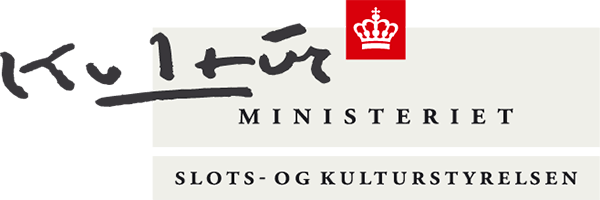Logo Slots- og Kulturstyrelsen